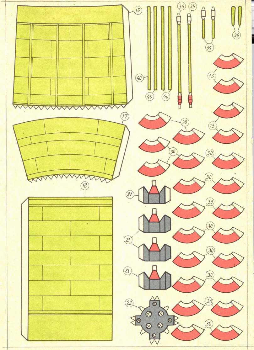 Модели корабликов из бумаги своими руками
